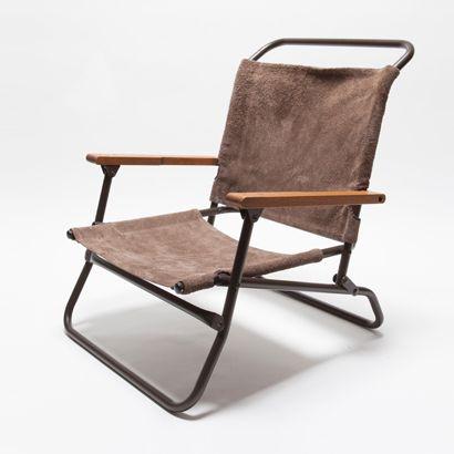 TRUCK|TRUCK-ZAKKA|hobo×TRUCK Waterproof Leather Low Chair