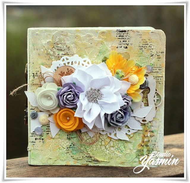 Studio Yasmin - Mini Album made with Maya Road products! Video tutorial on the blog :)