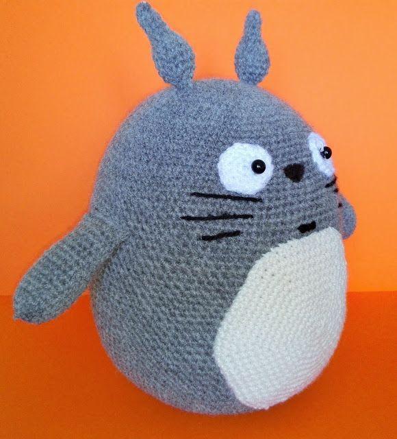 Totoro, amigurumi, crochet, szydełko, DIY, geek