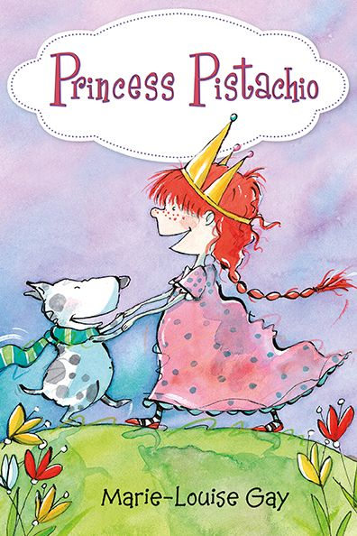 A new early reader from Marie-Louise Gay about Pistachio, an spunky and imaginative girl who is convinced she is really an abducted princess.