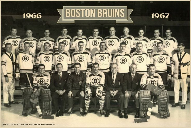 """Boston Bruins"" - 1967 #BostonBruins #nhl #icehockey #хоккей"