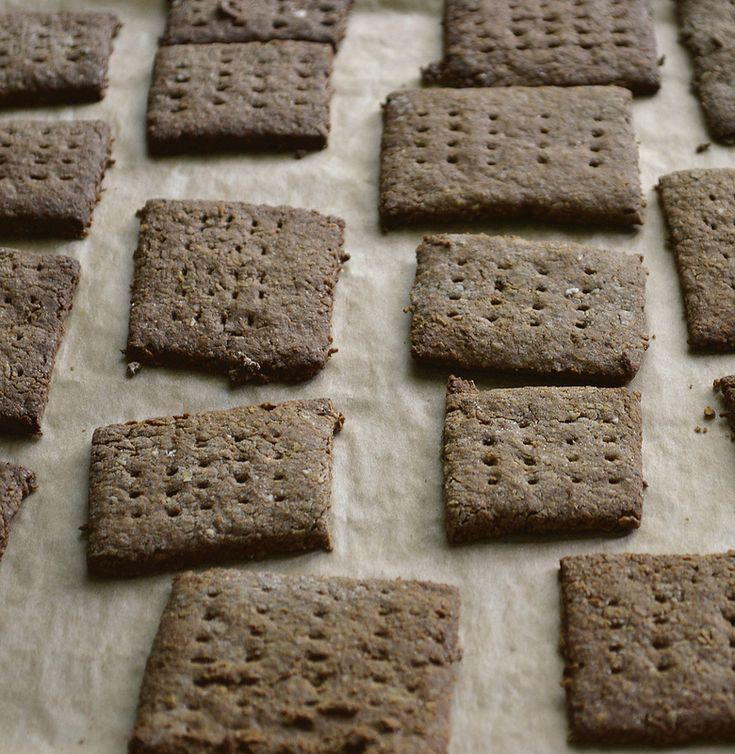 Rustic homemade graham crackers made with spelt flour, perfect for smores! #vegan #glutenfreeversion #grahamcrackers