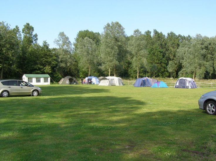 Run Cottage Touring Park, Hollesey, Woodbridge, Suffolk, England. Camping. Campsite. Holiday. Travel. Outdoors.