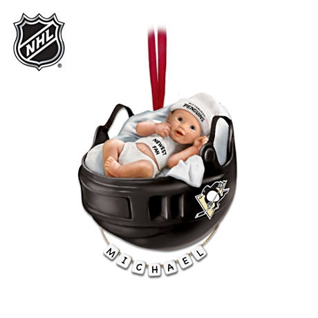 Pittsburgh Penguins  Personalized Baby s First Ornament. 17 Best images about StuPENdous Home Decor on Pinterest   Diy