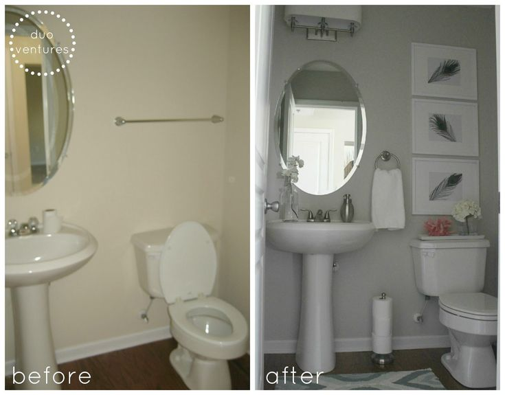 Duo Ventures: Half Bath Makeover