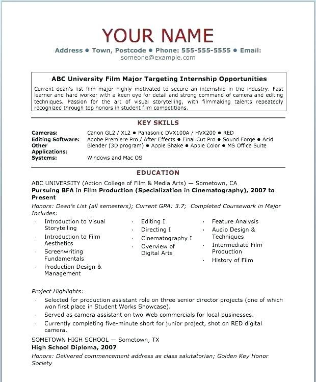 Free Resume Templates Basic 3 Free Resume Templates Resume