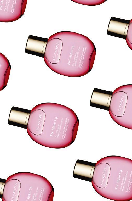 The best makeup fixing sprays. @clarinsuk Fix' Makeup, £23