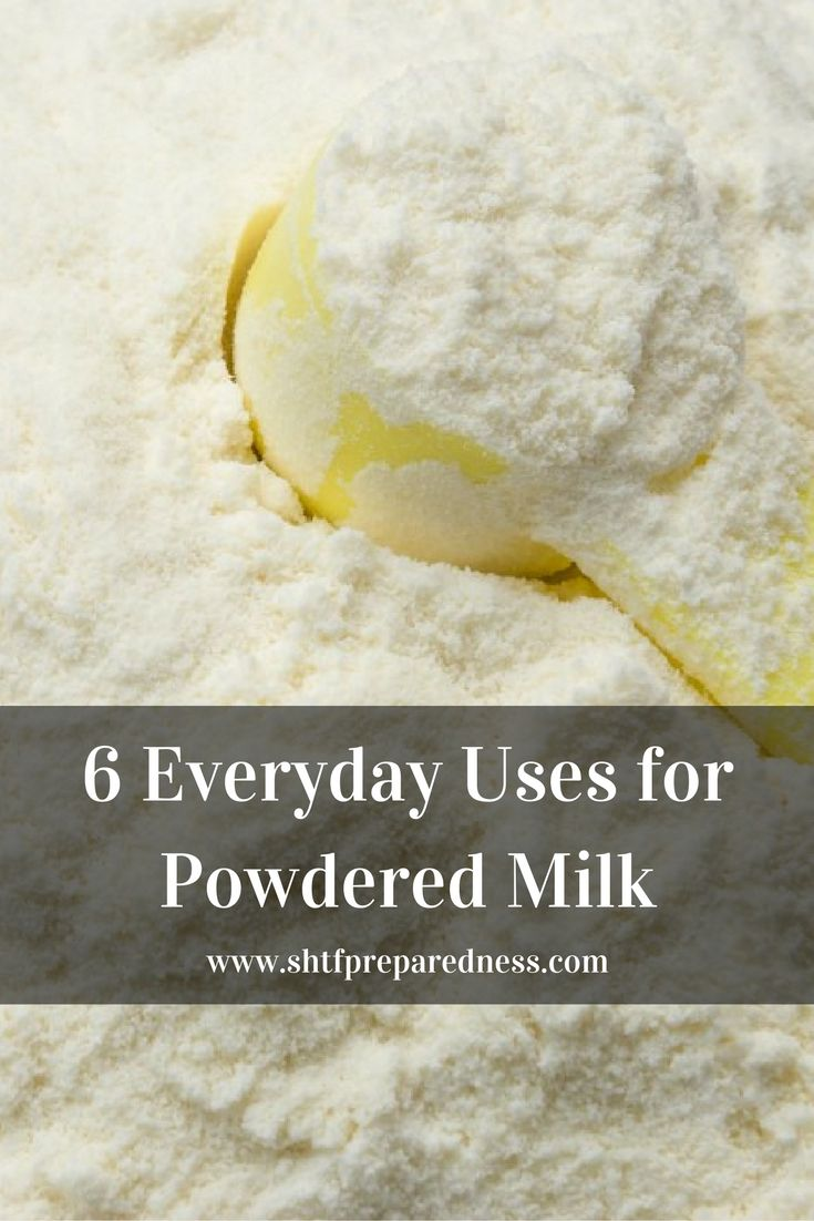 6 Everyday Uses for Powdered Milk - You might be saying to your self right now, powdered milk… NEVER! I used to say that, now though, I am so glad I am stockpiling it. I found a great article that goes over 6 ways to use powdered milk, some say dry milk but they are both the same.