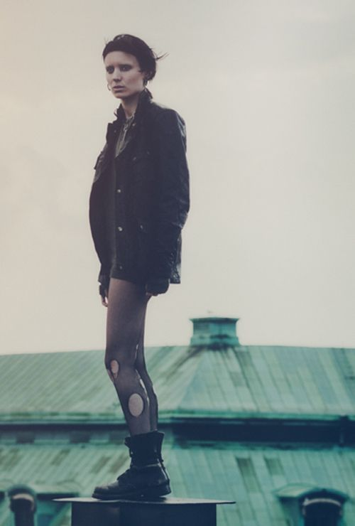 Rooney Mara for The Girl with the Dragon Tattoo