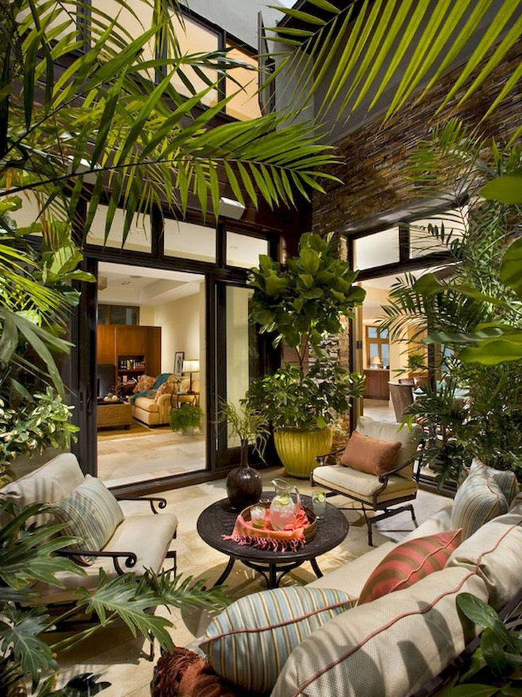 45+ coole und gemütliche kleine Hinterhof Sitzbereich Ideen