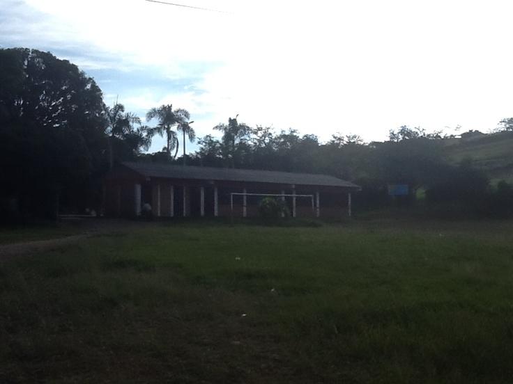 Institución Educativa del corregimiento El Vínculo en Buga.