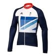 Team GB replica kit men's Cycling long sleeve jersey