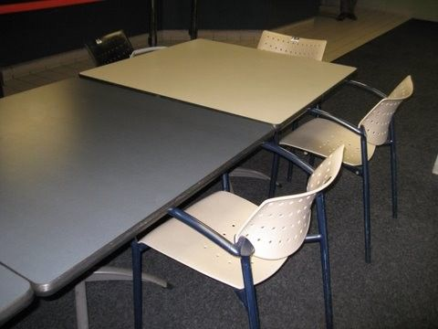 Used Vecta Flip Table. Easy To Store Used Vecta Flip Top Table For Easy  Storage. Get A Quote Today For Your Next Office Furniture!