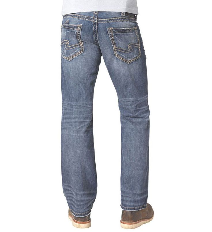 Silver Jeans Zac Relaxed Straight for Men M42408RS378. Shop more styles and sizes of Silver Jeans for Men on gliks.com!