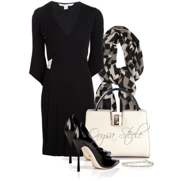 """DVF Dress"" by orysa on Polyvore"