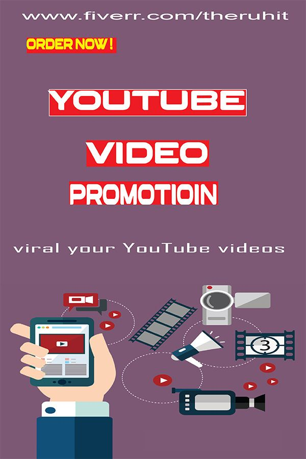 Theruhit I Will Do Organic Youtube Video Promotion With Google Adwords For 30 On Fiverr Com Youtube Videos Promotional Video Youtube Marketing
