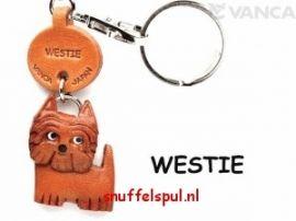 West Highland White Terrier   Honden Sleutelhangers   Snuffelspul, alles voor uw hond.