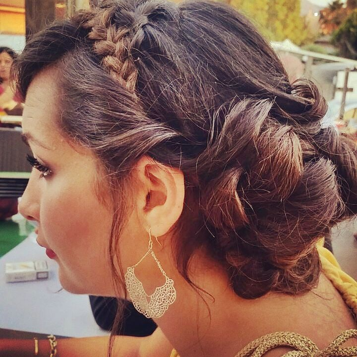 I AND MY BRIDES!!! #weddingday #fishbraid #personallook #shabbychicstyle #accessories #blondhair #shadowscolors #wave #imagineconsultingforyou #hairforspecialevents #hairforbride #ateliergp #gpbridal #gpforyou #ColorCouture #InspiredByExcellence #Chignon #Hairstyling #Braid #TopKnot