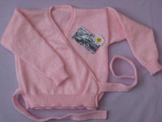 "22"" Ballet Crossover Cardigan - Pink £8.50"