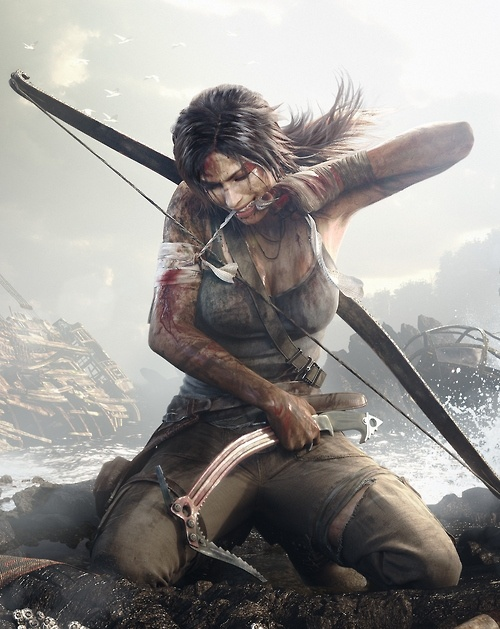 Lara Croft from Tomb raider  <---- This was a great game