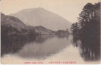 Japanese Publisher Postcard - Yumoto Lake Nikko