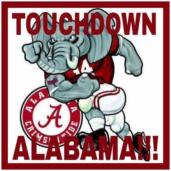 Touchdown Alabama!!