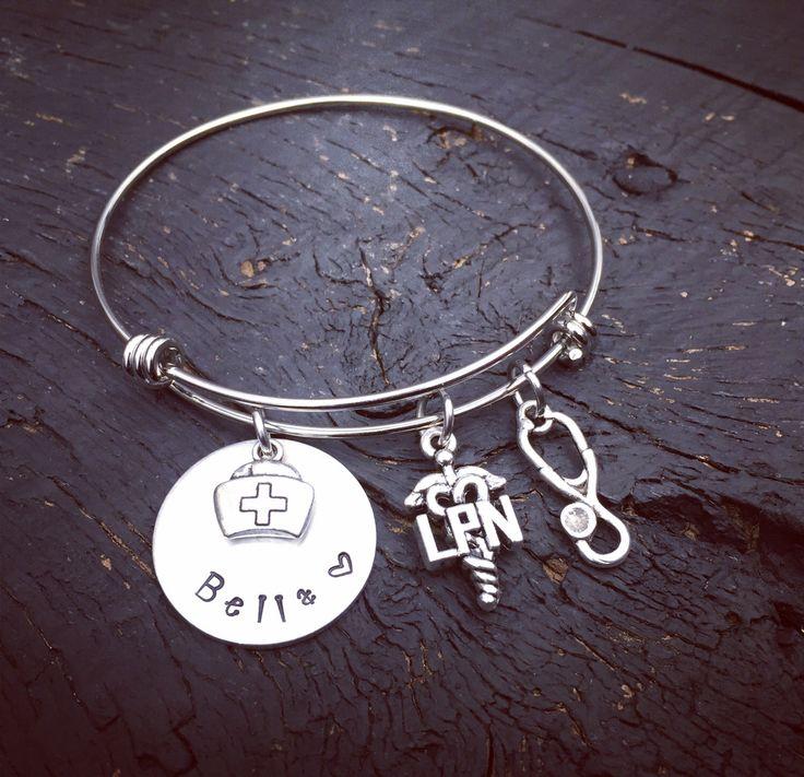 LPN Nurses Bracelet LPN Jewelry Licensed Practical