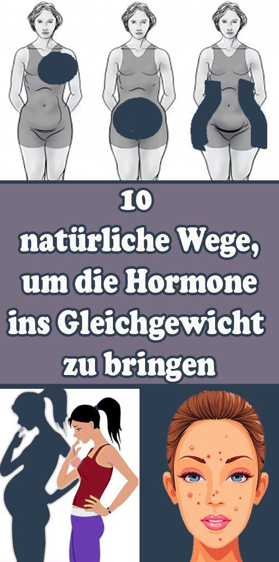 10 natürliche Wege, um die Hormone ins Gleichgewicht zu bringen Annett Schwarz