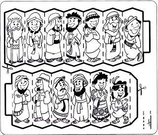 Apascentar os Pequeninos: José (atividades)