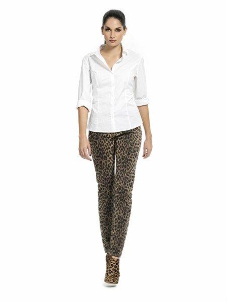 Pantalón de leopardo