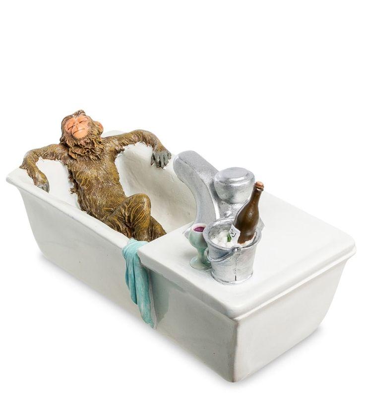 Декоративный фонтан «Жизнь удалась» ED-350      Страна производства: Китай;   Материал: полистоун;   Длина: 34 см;   Ширина: 18 см;   Высота: 21 см;   Вес: 1,8 кг;          #figurines #polyston #polyresin #статуэтки #фигурки #полистоун #обезьяна