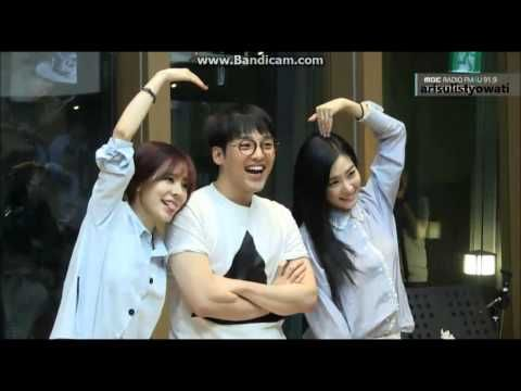 Sunny FM Date w/ Tiffany & HeeJun 150526 [end & take a picture] - YouTube
