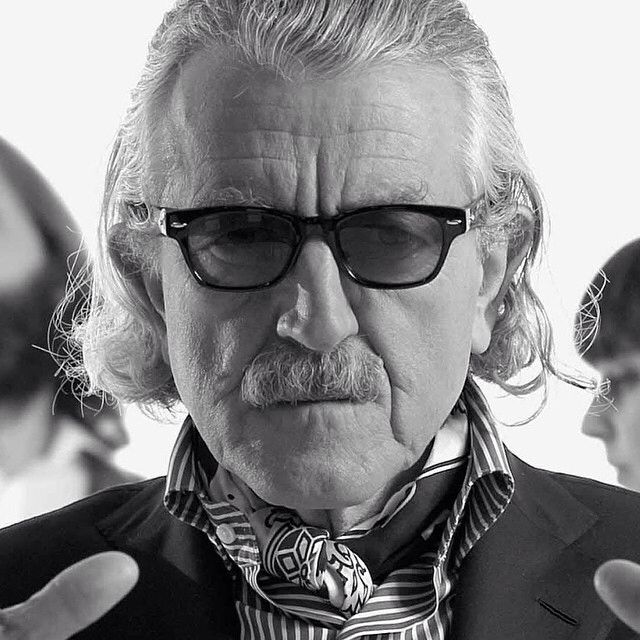 Dieter Meier #yello #ascot #elegance #timeless #rayban #sunglasses #haircut #style #classy #mustasch