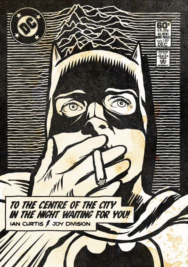 The Post-Punk / New Wave Super Friends by Butcher Billy by Butcher Billy, via Behance