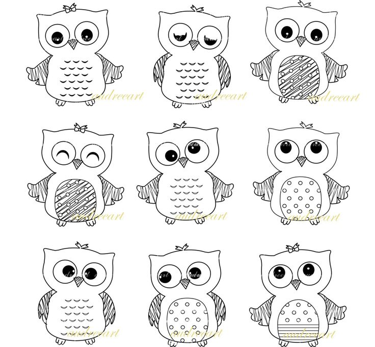 owl clip art pinterest - photo #46