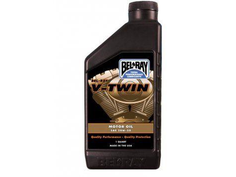 Bel-Ray V-Twin mineral przeznaczony jest do silników czterosuwowych. Zapewnia najwyższą wydajność smarowania oraz całoroczną niezawodną ochronę silnika.