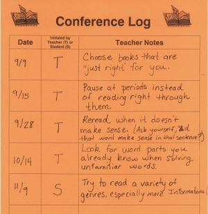 Lots of good ideas for reader's workshop, conferences, record-keeping, assessment, etc.