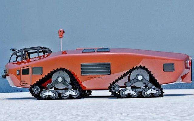 Polar Snow Crawler 1930s inspired