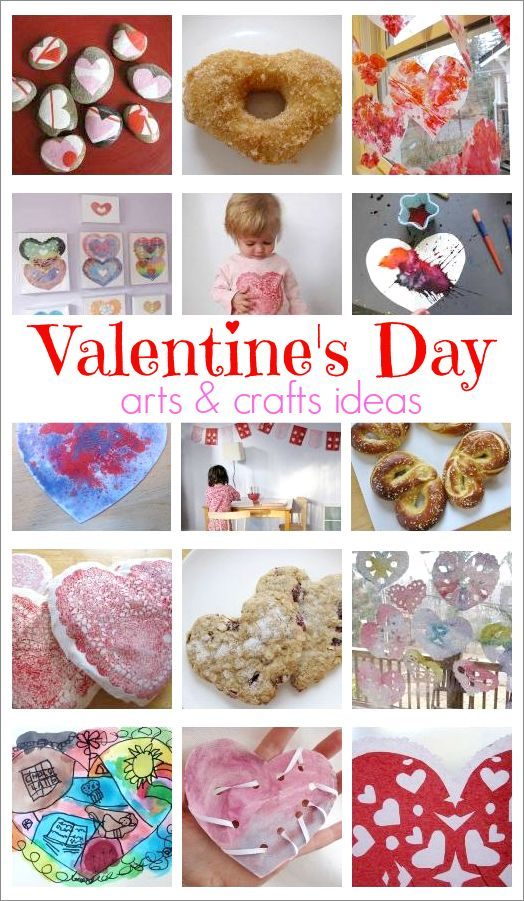valentine ideas arts and crafts