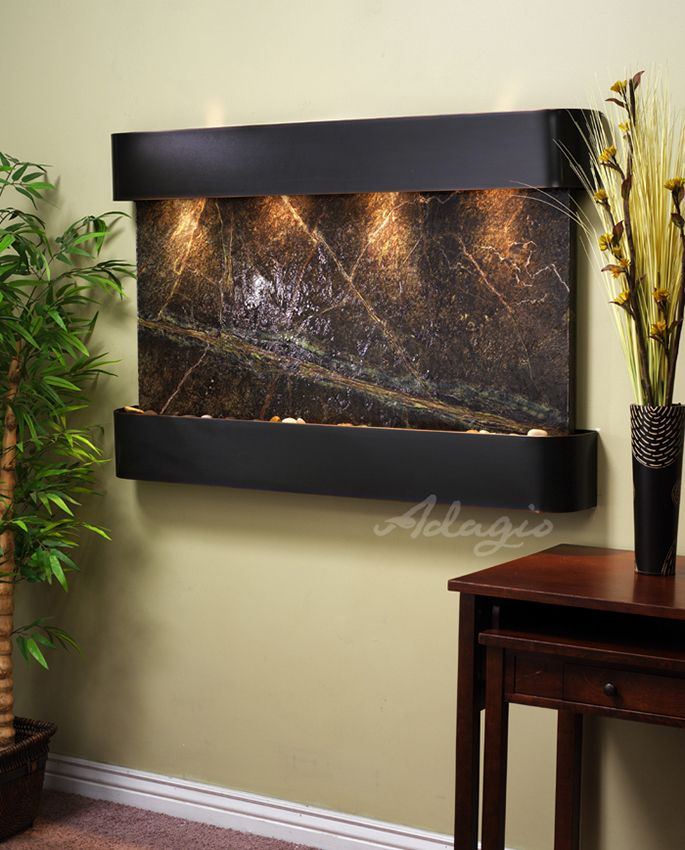 An Indoor Water Feature For Your Home And Adds Modern Style. Did You Know  Installing · Indoor Water FeaturesWall ...