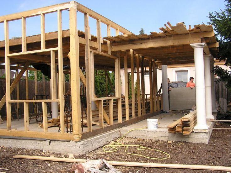 könnyűszerkezetes ház - faszerkezet