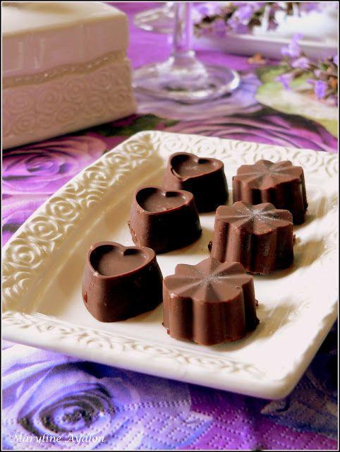 Ma Blogeria: ~~ שוקולד ופסיפלורה: פרלין מוגדור ~~