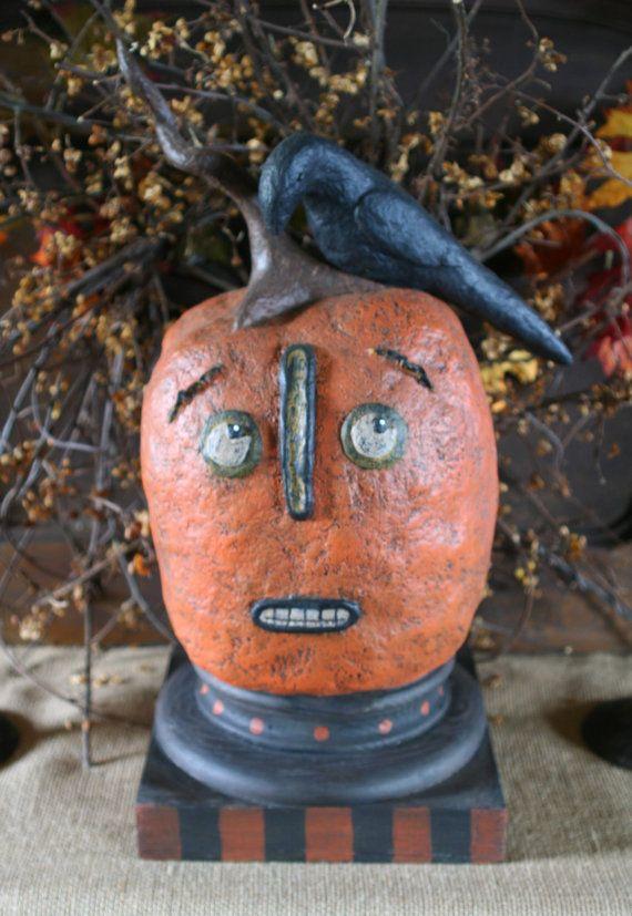 Amazingly Huge and Folky Primitive Halloween by FolkForAllSeasons, $125.00