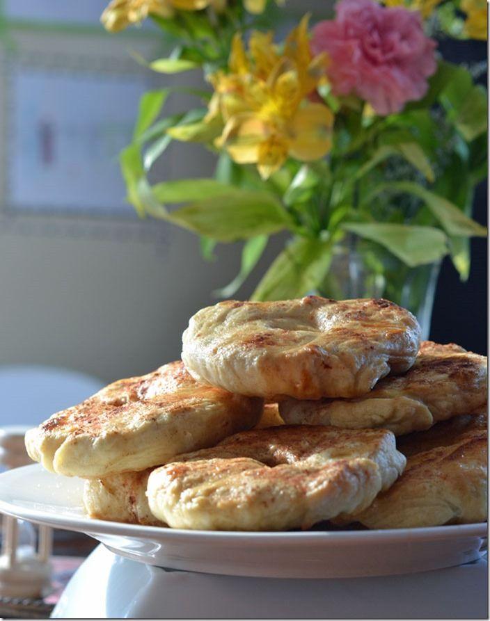 Make a homemade bagel...yum!