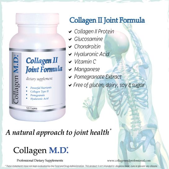 In the body, hyaline cartilage is the most common type of cartilage that's a compressed type of connective tissue with supple and slightly elastic properties.* Professional-strength Collagen II Joint Formula is a unique dietary supplement with 18 amino acids and Hyaluronic Acid helps support the natural mechanisms that promote cartilage and joint health.* Made in California under strict cGMP guidelines and free of gluten, dairy, sugar and soy. #CollagenMD #JointHealth #NMD  #HealthyAging