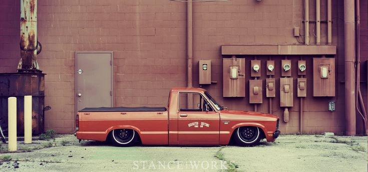 Cool Ford Courier #minitruck #low #ute