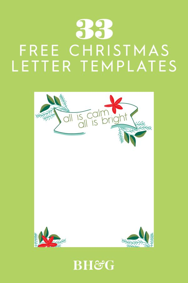 33 Free Templates To Help You Send Holiday Cheer Christmas