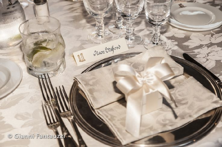 Pretty favors fro Brandi and Wilson's guests. www.weddingsinrome,com