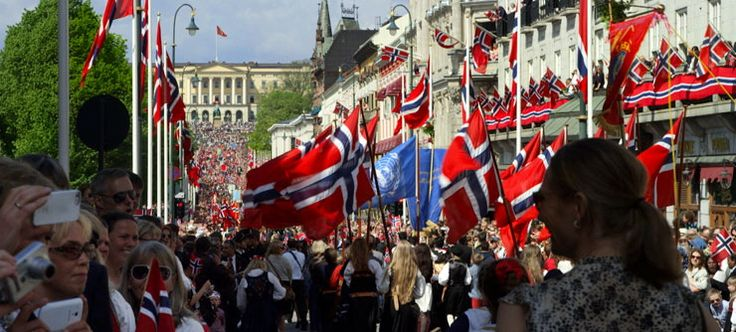 Join the biggest party in Norway. 17 May is Norway's Constitution Day, and is celebrated with children's parades, food, drink and festivities.