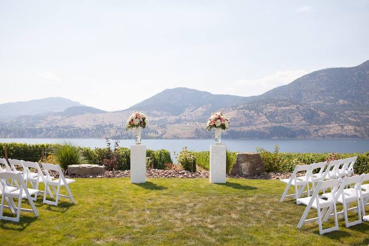What a view! Painted Rock Winery / Okanagan. Photo: Jarusha Brown Photography